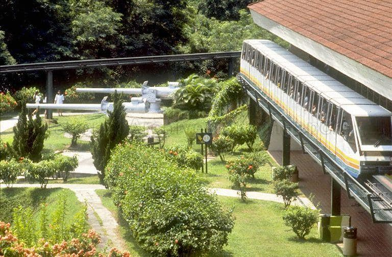 fort siloso monorail station